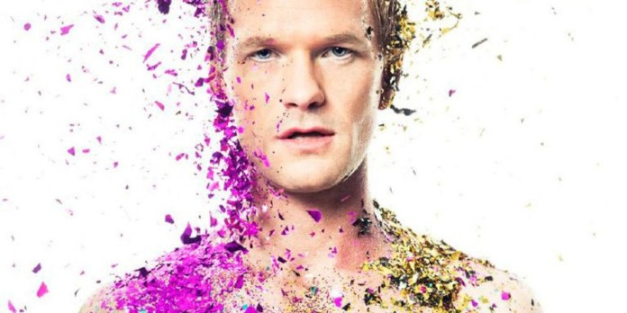 NPH in the photo shoot for Out Magazine shoot © Michael Mullers