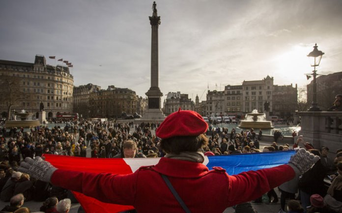 Trafalgar SQ, London. Image by: Rob Stothard - Getty Images